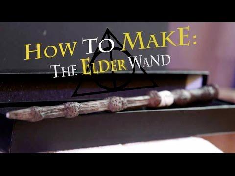Crimson Propshop: The Elder Wand (Harry Potter)