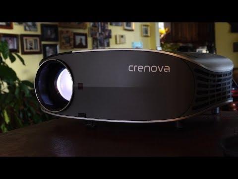 Crenova YG600 LED HD Projector Review