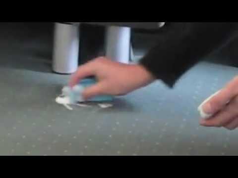 Permanon PS Paste Permanent Marker remove from Carpet mov