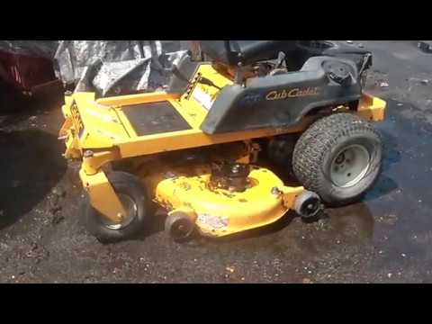 Spring Service for Cub Cadet RZT50, Oil, filter change, cooling, wear indicators