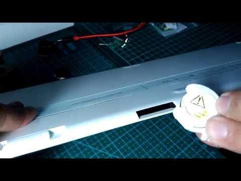 Opening Battery holder for the Logitech k750 Solar Keyboard