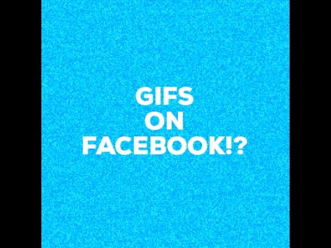 How to Post GIF image on Facebook - 2017