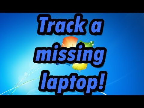 How to track a missing/stolen laptop (free)