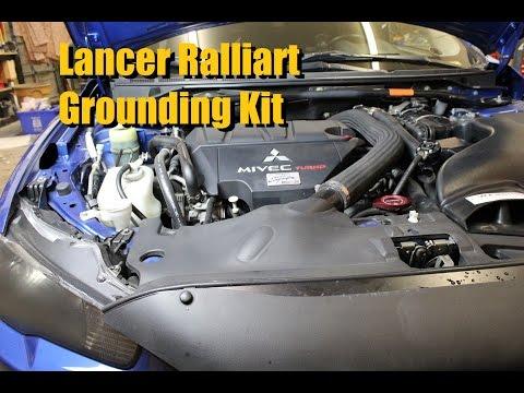 Builds: Mitsubishi Lancer RalliArt Outback custom Grounding Kit