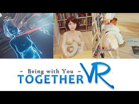 Being with you together vr :Boobs and Dress defying the laws of physics