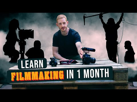 Learn Filmmaking In 1 Month || Max's Monthly Challenge