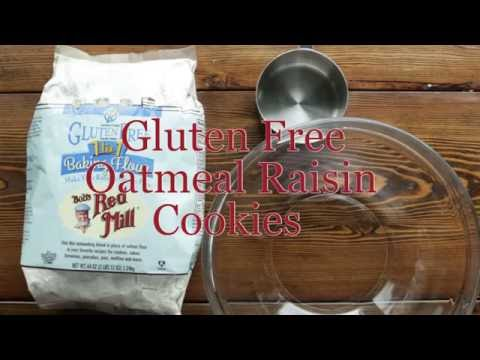 How to Make: Gluten Free Oatmeal Raisin Cookies