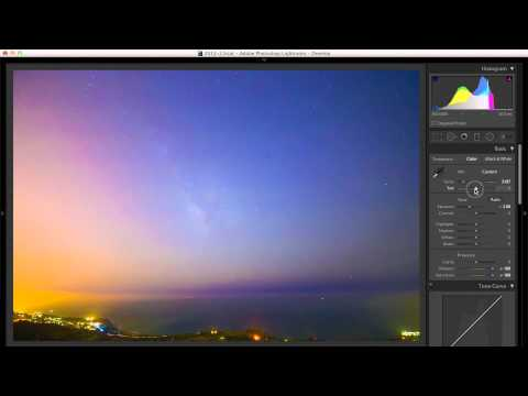 How to Photograph the Milky Way in Really Heavy Light Pollution Using ETTR (Expose to the Right)