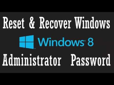 Windows 8 Password Recovery with Hiren's BootCD
