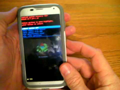 Clearing Cache and Safe Mode for Moto E, G, and X running Kit-Kat