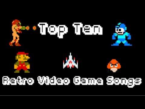 Top Ten Retro Video Game Songs