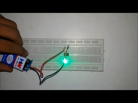 How to make a IC 555 timer blinking LED | Teen Techers