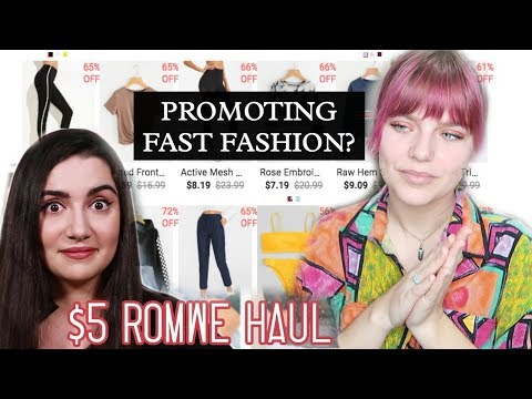 Cheap Clothing Reviews/Hauls (Zaful, Romwe, SheIn) are Problematic