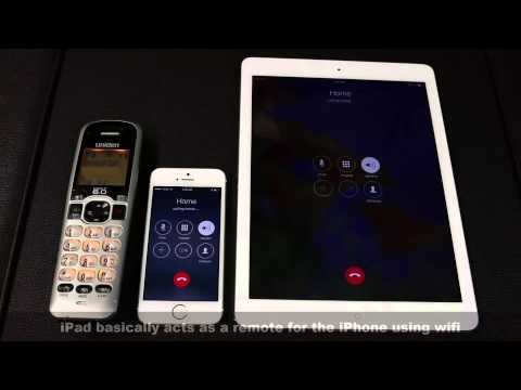 How to Make Phone calls using your iPad on iOS 8