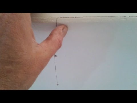 Plasterboard  Why do cracks come back?