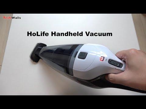 HoLife Handheld Cordless Vacuum Unboxing & Testing
