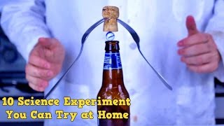 Download 10 Science Tricks You Can Try at Home Video