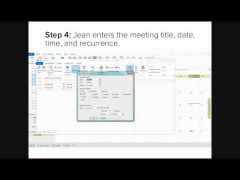 Schedule a Meeting for Someone Else in Outlook