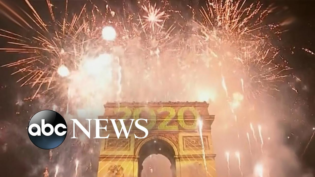 Stunning 2020 celebration in France