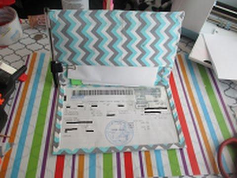 DIY Car Registration Folder
