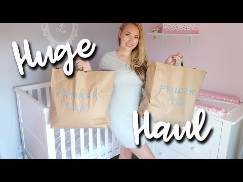 HUGE PRIMARK HAUL AND TRY ON - SUMMER CLOTHES JUNE 2018 - BABY GIRL CLOTHES - A CHILDMINDING MUMMY