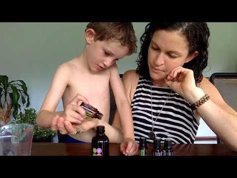DIY Healthy Hair Spray with doTERRA Essential Oils.