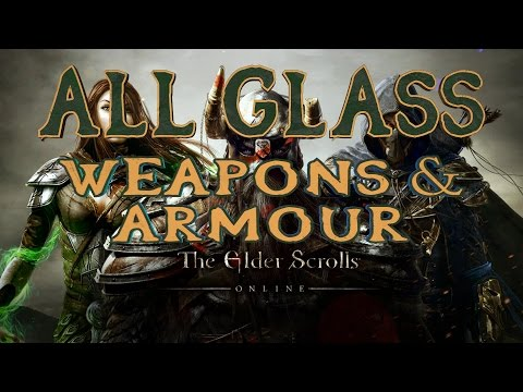 Elder Scrolls Online | All Glass Weapons & Armour | PS4/Xbox/PC