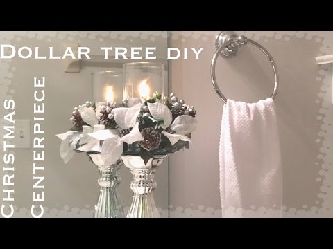 DOLLAR TREE CHRISTMAS CANDLE HOLDER DIY|VD#3