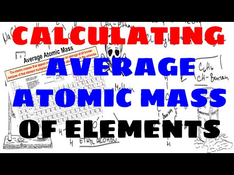How To Calculate an Element's Average Atomic Mass