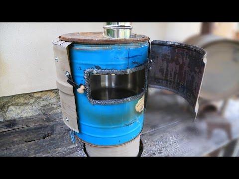 Rocket stove oven - New design