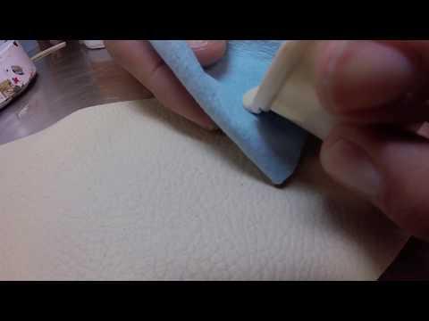Leather ink repair