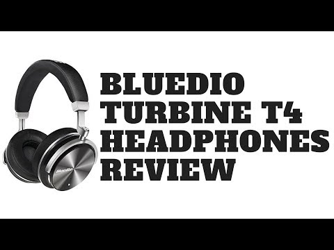 Bluedio Turbine T4  Active Noise Cancelling Bluetooth Wireless Headphones Review