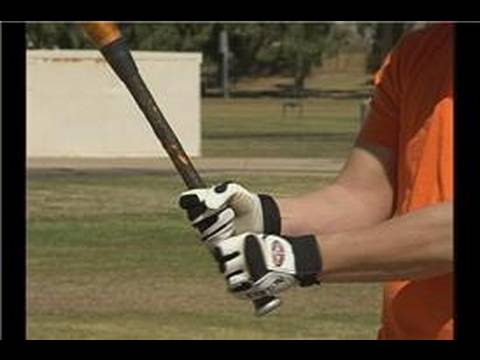 Baseball Batting Stance & Hitting Techniques : How to Hold a Baseball Bat