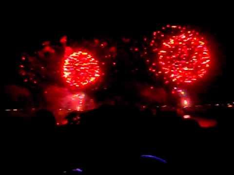 Groton, CT fireworks 2012