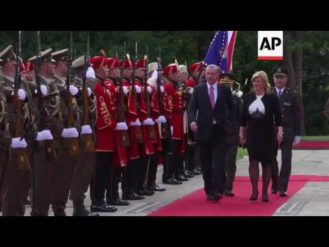 Xxx Mp4 Erdogan Arrives For Two Day Visit To Croatia 3gp Sex