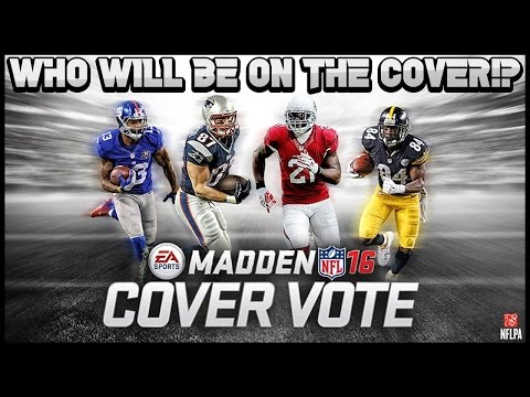 Madden Mobile - NEW COVER VOTING CONTENT! VOTE WHO SHOULD BE ON THE COVER OF MADDEN 16!