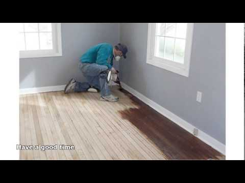 how to refinish hardwood floors yourself