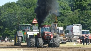 The Most Smoking Tractor Pullers in Denmark | Tractor Pulling Denmark