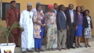 Healthcare Managers Visit  Director General  NTA