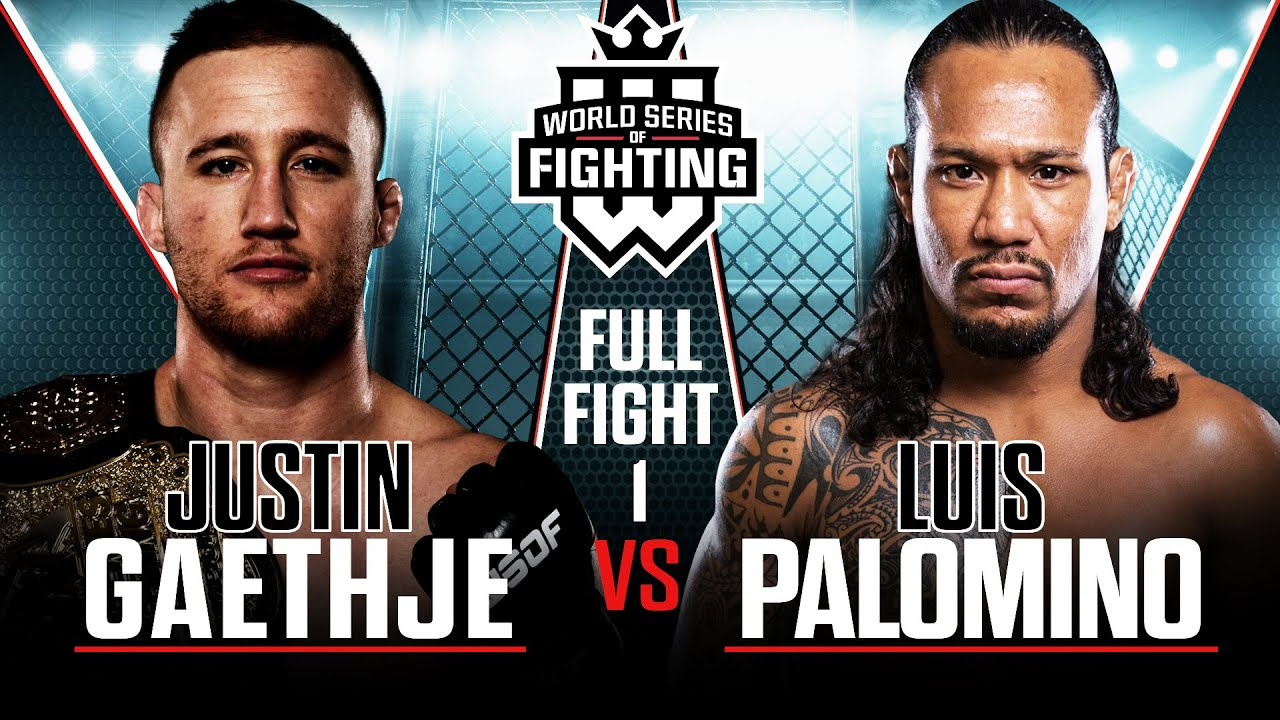 [HD] Full Fight | Justin Gaethje vs Luis Palomino 1 (Lightweight Title Bout) | WSOF 19, 2015