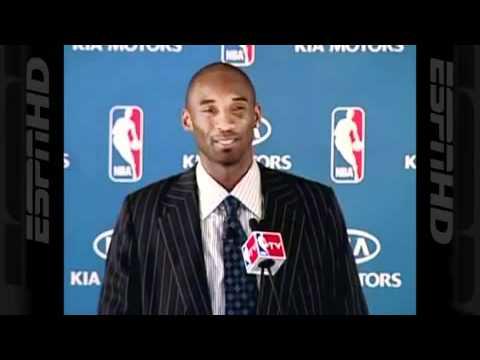 Kobe Bryant Tries To Speak Spanish HD