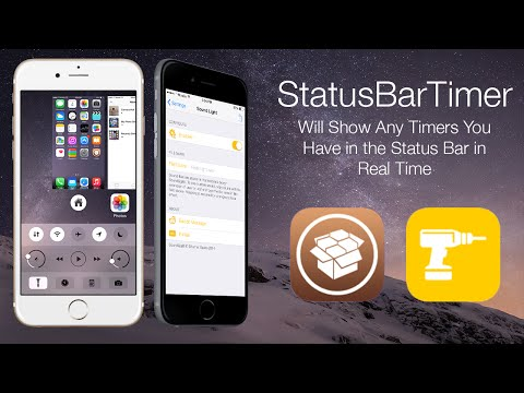 StatusBarTimer: Will Show Any Timers You Have in the Status Bar in Real Time