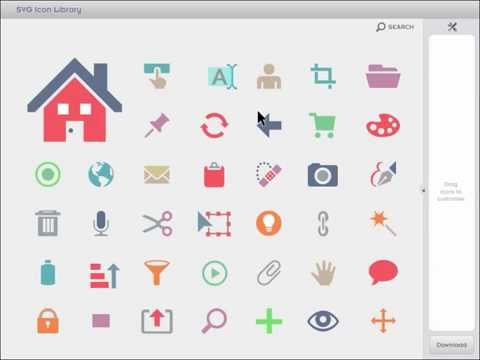 SVG Icon Library