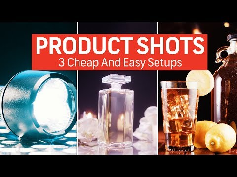 How To Shoot Product Shots: 3 Cheap And Easy Setups   Cinematography Techniques
