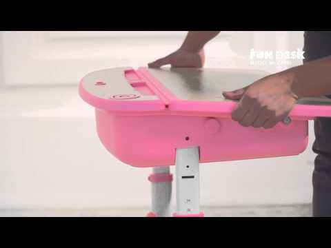 Adjustable ergonomic healthy kids desk and chair  Fun Desk Capri