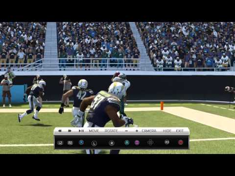 Madden NFL 25 A QUARTERBACK CATHES THE BALL!?!? (Best catch ever?)