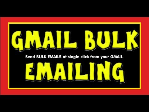 Send Bulk Emails from Gmail at one click by using Gmass