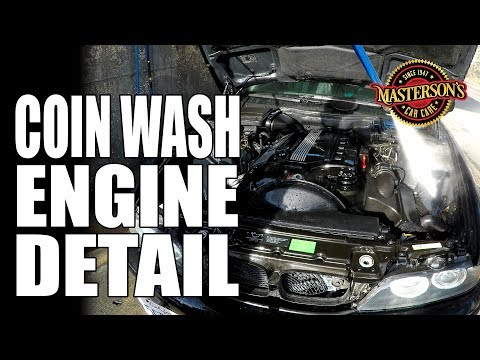 How To Coin Wash Engine Detail - Masterson's Car Care - Detailing Tips & Tricks