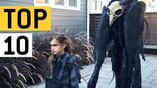 Top 10 Halloween Costume Ideas || JukinVideo Top Ten