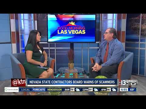 Nevada State Contractors Board warns of scammers
